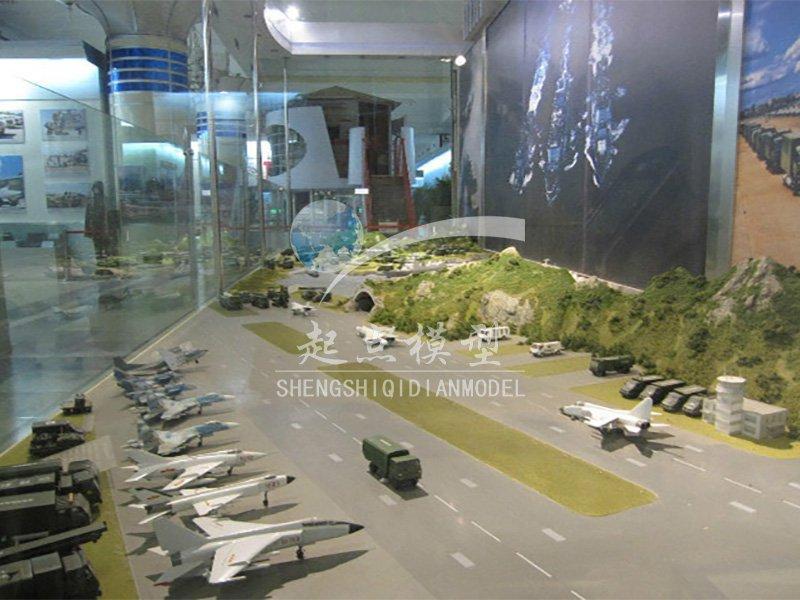北京盛世起点模型-军用机场场景模型